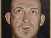 Beria,  olio su tela, legno, cm. 70x50,  2004