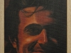 Autoritratto,  olio su tela, legno, cm. 17x20,  2004