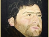 Four bears: Mauro, legno, olio su tela,  cm. 70x50,  2005