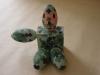I personaggi OK:  il soldato,  gesso dipinto,  cm. 24x24x18,  2000