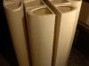 Fuoriuscito ( particolare),  legno,  4 elementi, cm. 180x100 cad.  2008