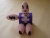 I personaggi OK: il maialino,  gesso dipinto,  cm. 24x24x18,  2000