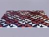 Senza soluzione di continuità, Pavimento in marmo, intarsio di marmi policromi,  cm. 240x240, 2001