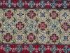 Senza soluzione di continuità, ( particolare), acrilico su tela,  cm. 200x500, 1999