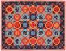 Boh wall carpet,  acrilico su muro,  cm. 172x252,  2003
