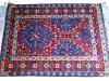 First carpet,  lana annodata a mano su ordito di cotone,  cm. 110x140,  2000