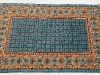 Live in quetta, lana annodata a mano su ordito di cotone,  cm.180x270,  2000