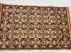 Caleidos,  lana annodata a mano su ordito di cotone,  cm.110x170,  2000