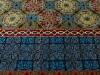 Crosshead ( particolare),  lana annodata a mano su ordito di cotone,  cm.180x220,  2000
