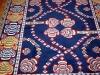 Mukunni blue version ( particolare),  lana annodata a mano su ordito di cotone,  cm.150x200,  2000