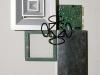 Terra-terra,  serigrafia su oggetti,  cm. 55x30,  1995