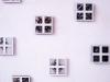 Terra-terra (particolare),  serigrafia su telaietti da diapositiva,  cm. 10x10 per elemento, 1996